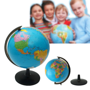 World Globe Atlas Map With Stand