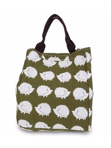 SaicleHome Borsa Termica a Pranzo a Mano Impermeabile Tote Bag