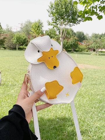 Duck Shape Cartoon Bags