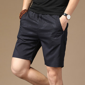 Season Sports Shorts Men's Ice Silk Five Pants Youth Thin Section Quick-drying Stretch Beach Pants Tide