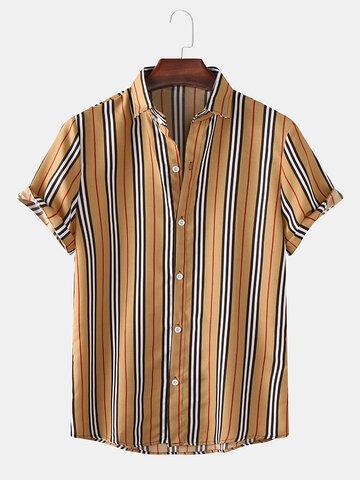 Mens Classic Striped Shirts