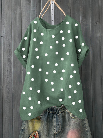 Summer Polka Dot T-Shirt