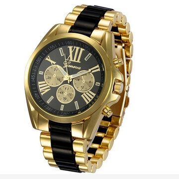 Relógio de pulso de quartzo dos homens de negócio