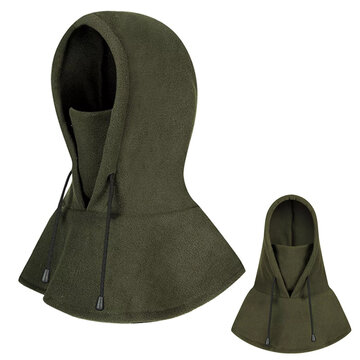 Warm Face Mask Cap With Neck Flap