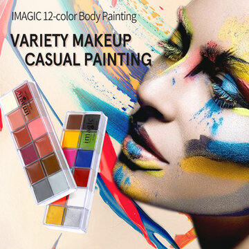 Face Body Paint Oil Painting