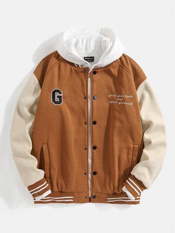 Vintage Patchwork Varsity Jacket