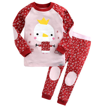 Cartoon Printed Kids Pajamas