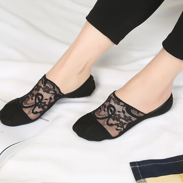 Women's Lace Antiskid Short Ankle Socks
