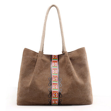 Canvas National Tote Bag