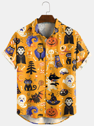 Halloween Cartoon Funny Shirts