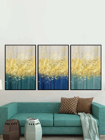 1/3Pcs Abstract Painting Canvas Unframed Wall Art Picture Home Decorate Living Room