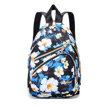 Print Casual Nylon Lightweight Chest Bag Backpack фото