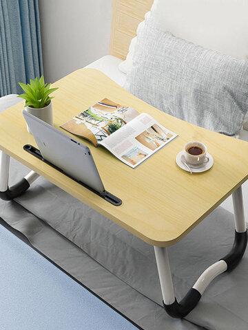 Adjustable Standing Office Desk Bed Small Table Folding Table Lazy Simple Desk Bedroom Laptop Table Seat
