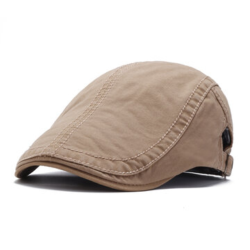 Einfarbige Baskenmütze
