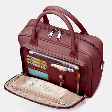 Women Designer Travel Laptop Bag Solid Crossbody Bag