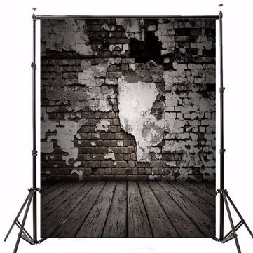 5x7FT Vintage Photography Backdrops Brick Wall Photo Studio Background Vinyl