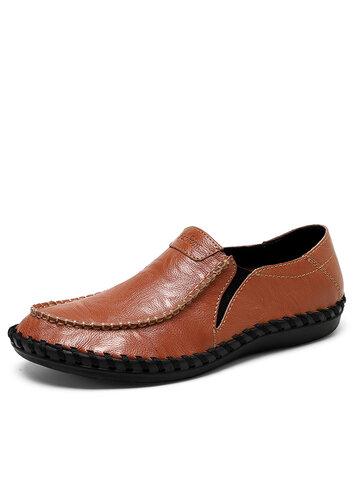 Мужская повседневная деловая обувь без шнуровки