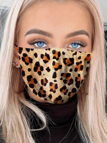 7 Pieces Pm2.5 Gasket Face Mask Washable Anti-fog