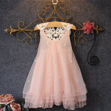 Girls Peals Princess Dress 2Y-13Y