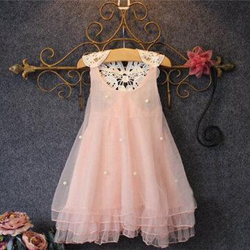 Prinzessin Kleid mit Perlen