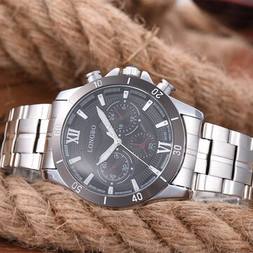 LONGBO Stainless Steel Montre
