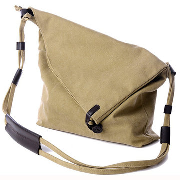 Vintage Canvas Casual Large Bag