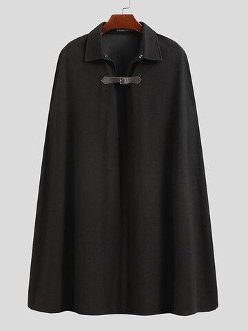 Designer Button Sleeveless Cape Cardigans