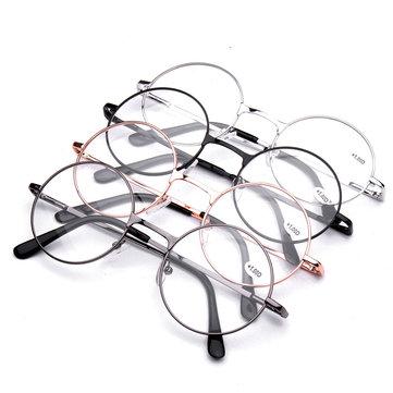 4 Farben Retro Runde Presbyopie Brille