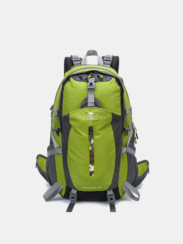 40L Polyester Waterproof Light Weight Large Capacity Sport Hiking Travel Backpack