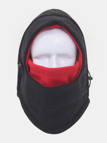 Thicker Fleece Warm Windproof Outdoor Sports Cap