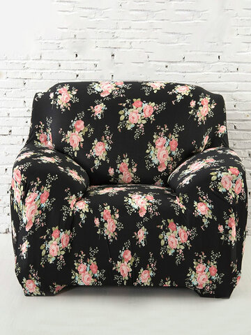 1 Seater Sofa Slipcover Stretch Protector Soft Couch Cover