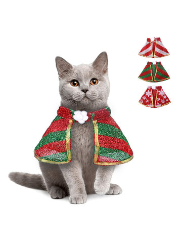 1Pc Creative Pet Cloak Christmas And Halloween Funny Cat And Dog Clothes Pet Supplies