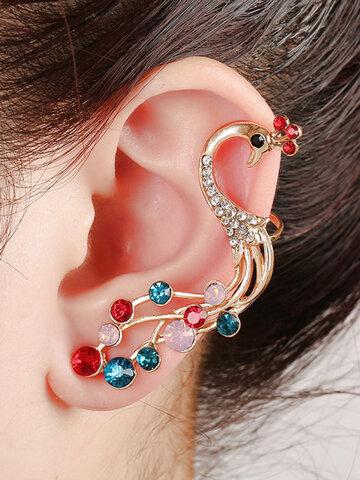Ethnic Colorful Peacock Earrings