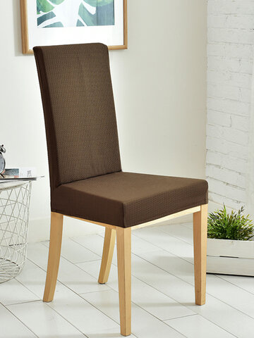 Waffle Fabric Waterproof Dining Chair Covers