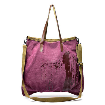 Women Canvas Large Capacity Waterproof Handbags