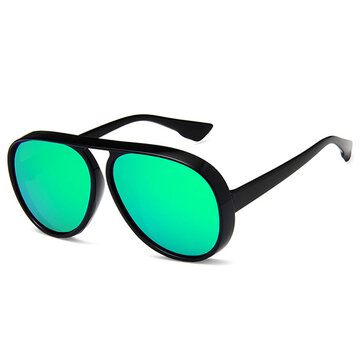 Sunglasses For Big Heads One-Piece Face Thin Round glasseses