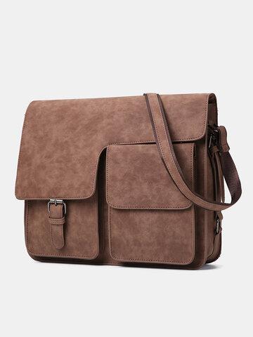 Vintage Multifunction Crossbody Bag