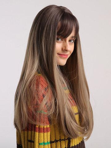 24 Inch Gradient Long Wig
