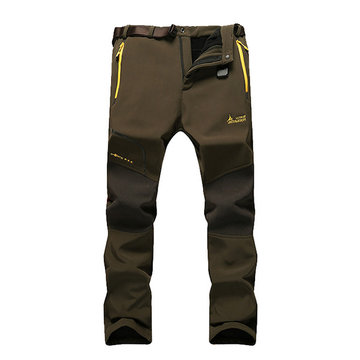 Mens Outdoor Durable Soft Shell Sport Pants