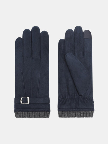 Winter Warm Thicken Suede Gloves