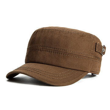 Sunscreen Cotton Military Hat Outdoor Sport Cap, Army green gray black coffee