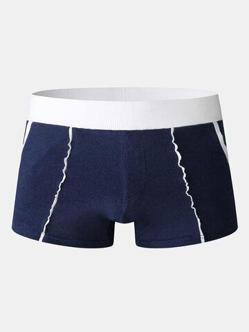 Pocket Mid Waist Underwear