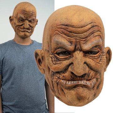 ハロウィーン老人パーティーマスク