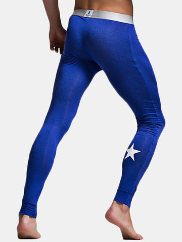 Modal Elastic Legging Long Johns Sleepwear