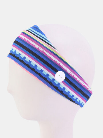 Unisex Outdoor Sports Sweat-absorbent Hairband Yoga Hairband Headband