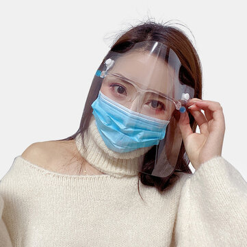 Transparent Face Mask Shield