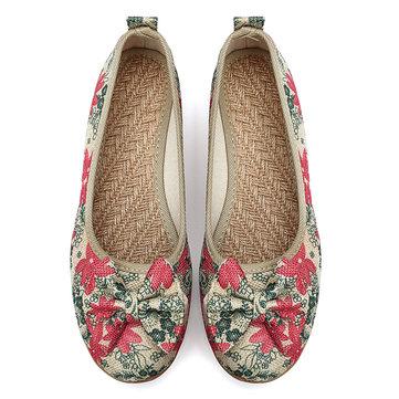 Zapatos de tela casuales de talla grande