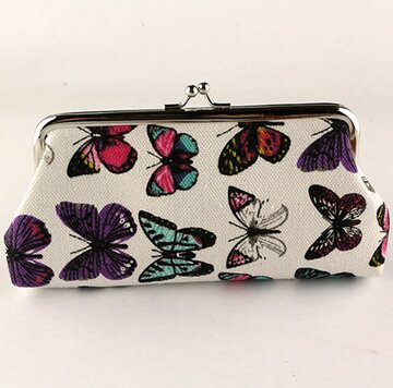 Butterfly Wallet Storage Bag