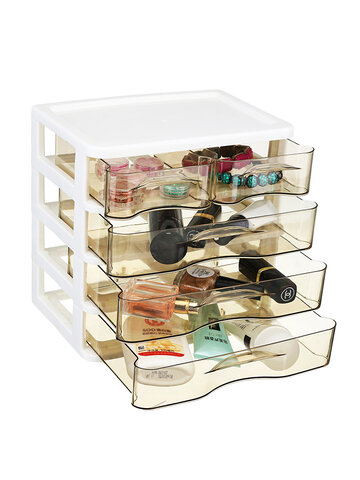 2-4 Layers Cosmetics Desktop Storage Box