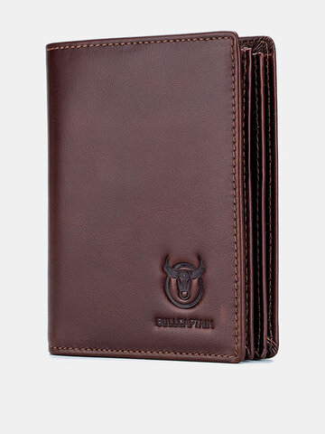 Men Anti theft Genuine Leather Wallet